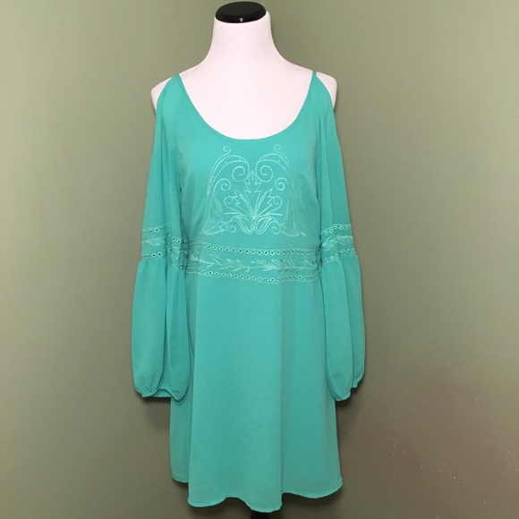 9e13b5234b4e Dillard's Dresses | Dillards Cutout Long Sleeve Dress | Poshmark